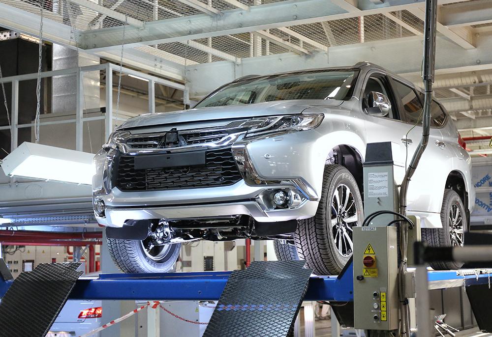 Mitsubishi Pajero Sport - возобновление производства в России