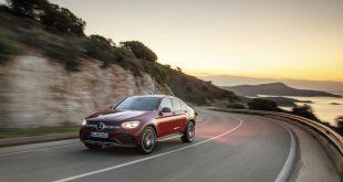 Mercedes-Benz GLC представляет новое купе