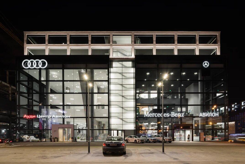«АВИЛОН» открыл новый дилерский центр «Мерседес-Бенц