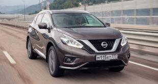 Рекомендованные цены на Nissan Murano