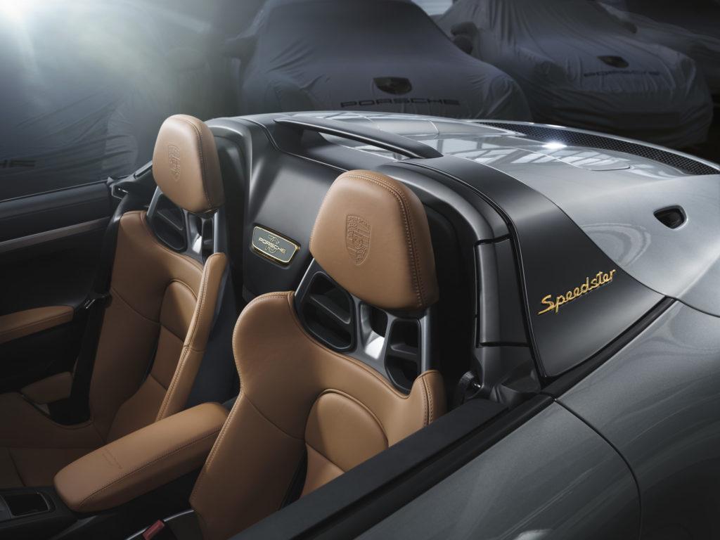 Новый Porsche 911 Speedster