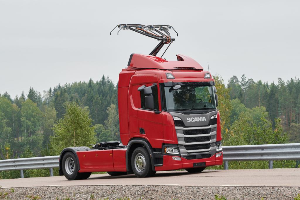 Scania на электроприводе