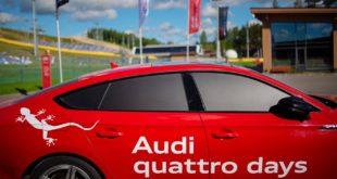 Роад-шоу Audi quattro days