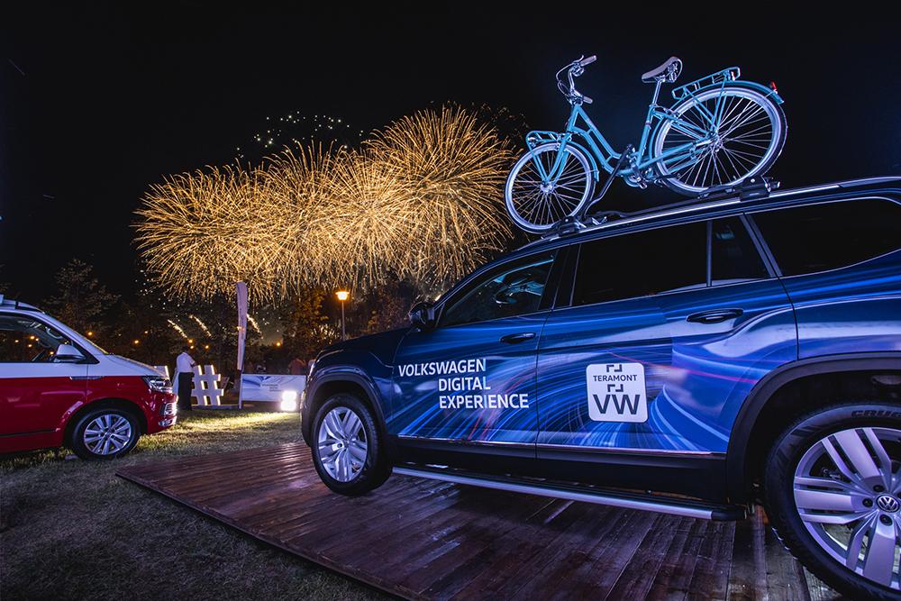 Volkswagen Digital Experience на фестивалях лета