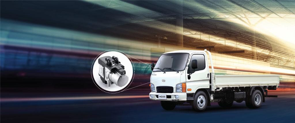 Подогреватели Webasto для Hyundai HD35