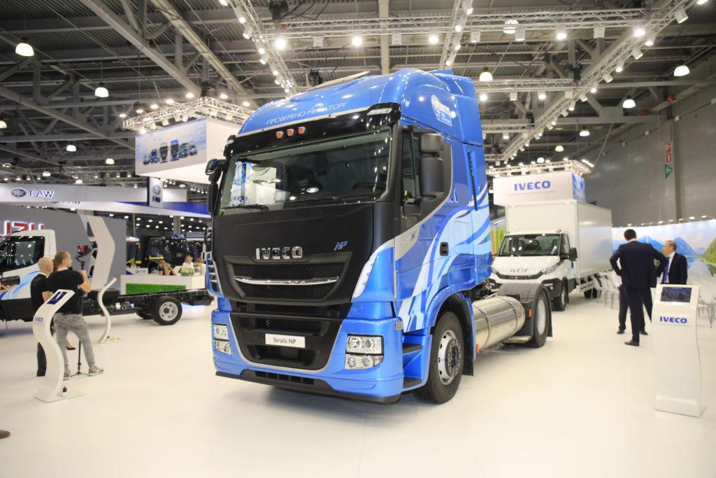 Автомобили IVECO на газомоторном топливе
