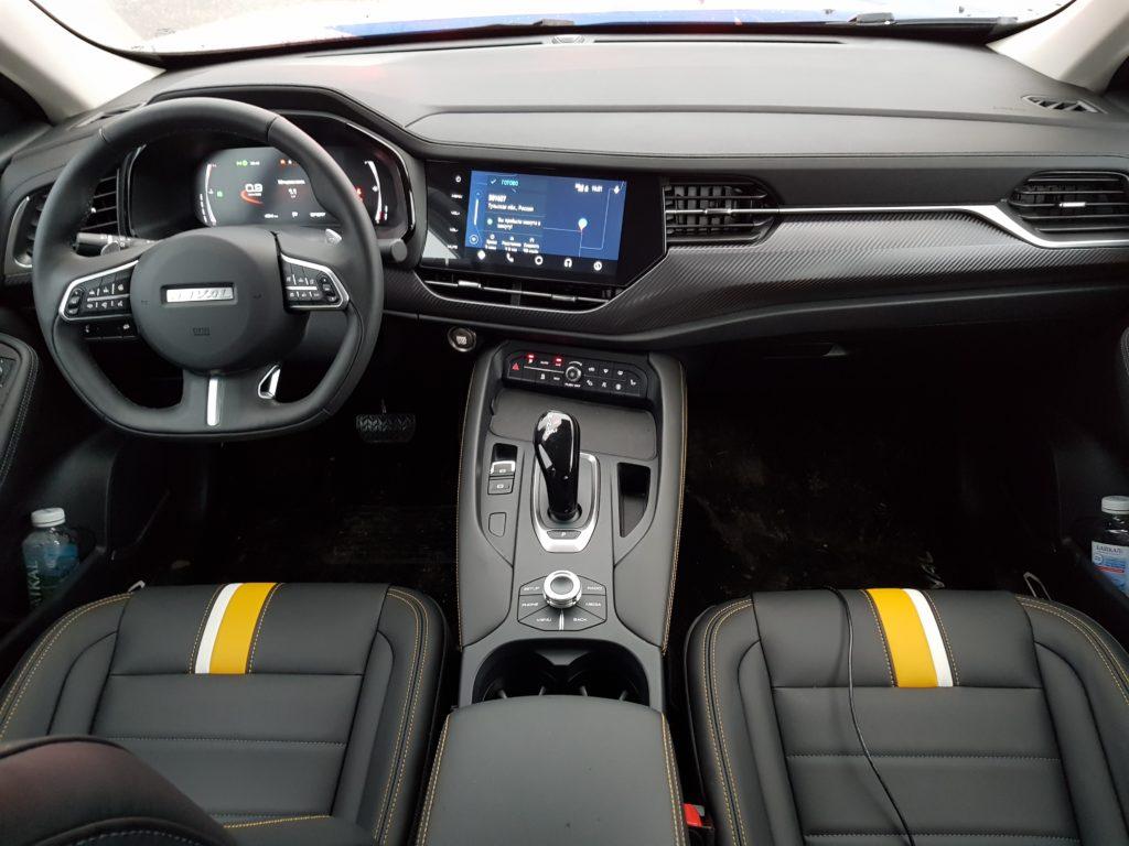 HAVAL показал новый купе-кроссовер F7x