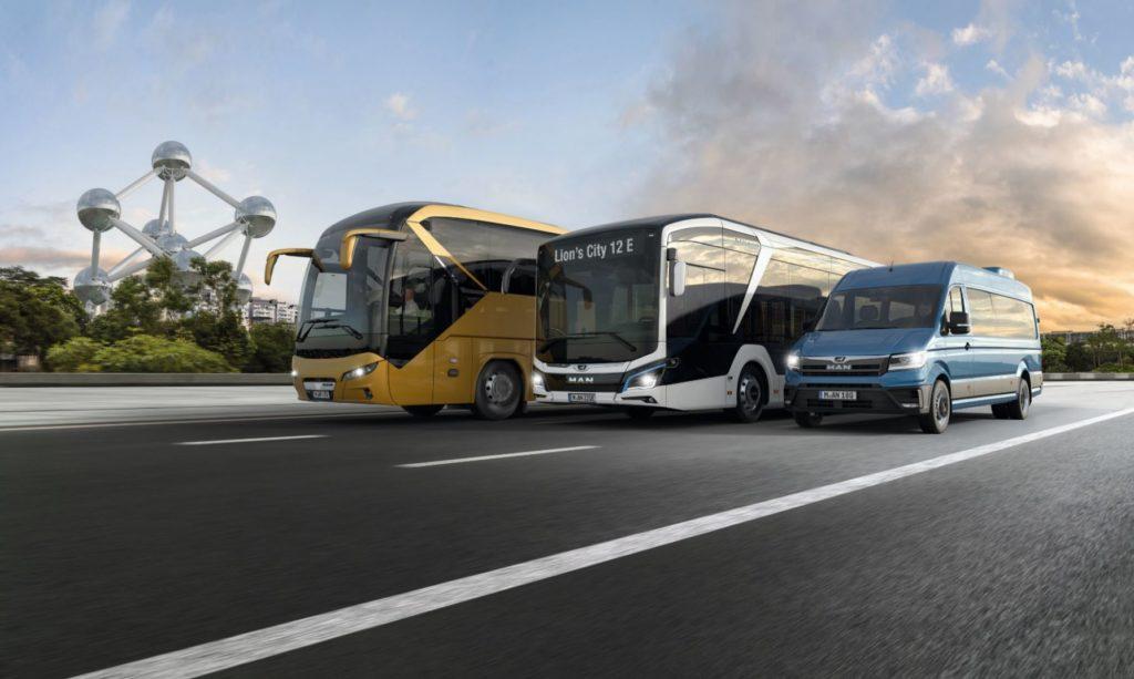 MAN Truck & Bus показал на Busworld Europe 2019 в Брюсселе новинки