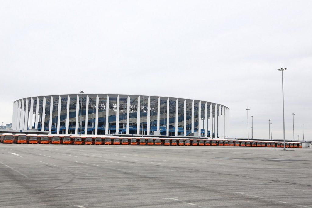 Нижний Новгород получил 56 экологически чистых автобусов ЛиАЗ-5292