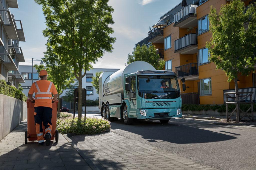Электрогрузовики Volvo для городов
