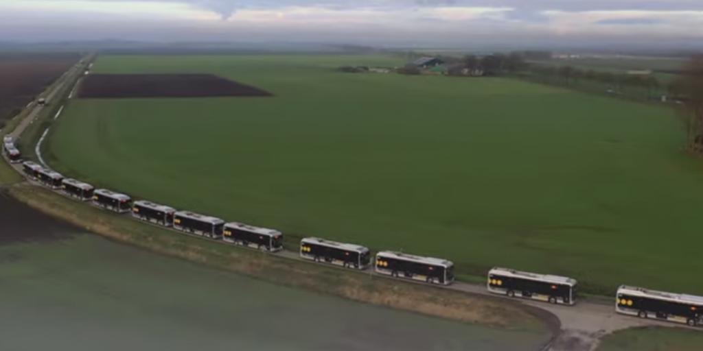 Нидерланды лидируют в электротранспорте