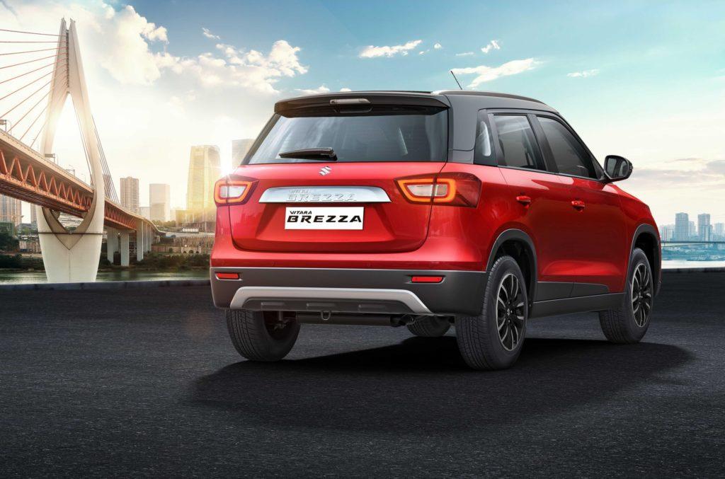 Suzuki представила новую Vitara Brezza
