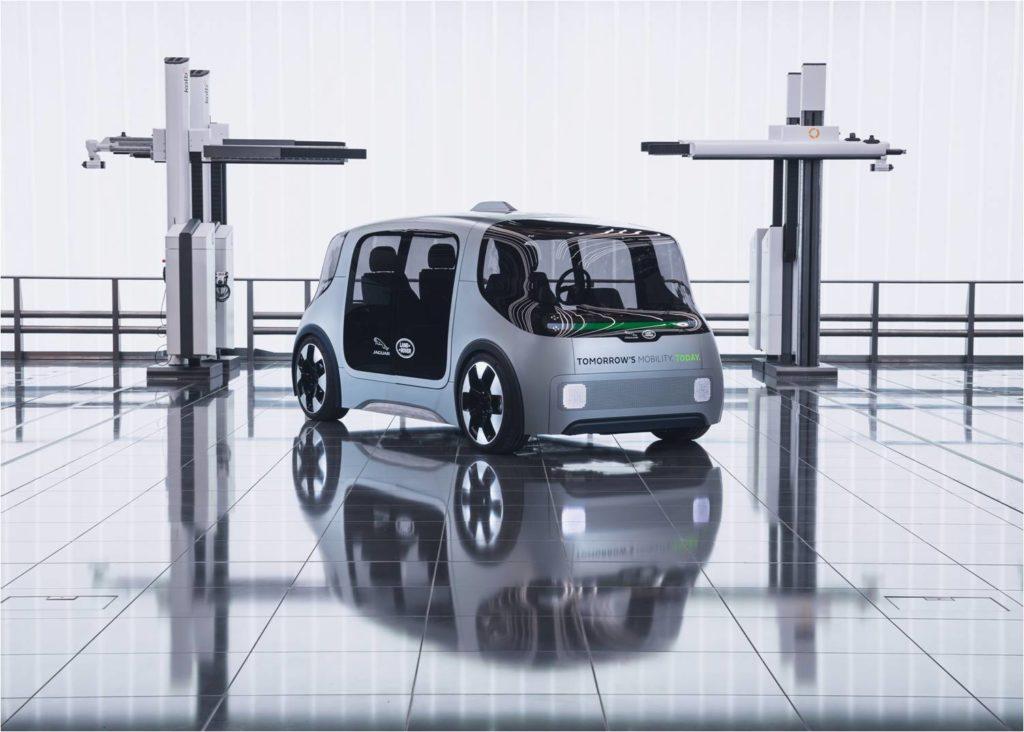 Городской электромобиль будущего от Jaguar Land Rover