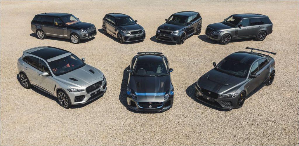 Jaguar Land Rover анонсировал рост продаж эксклюзивных моделей