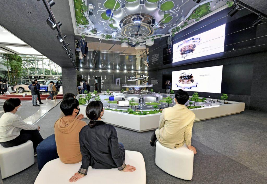 Hyundai Motor представила модель умной экосистемы мобильности