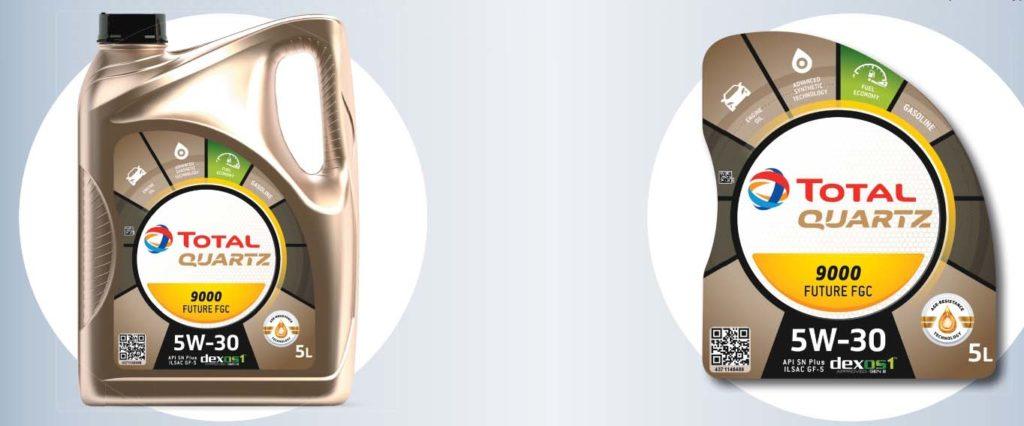 Компания Total обновила дизайн канистр для моторных масел