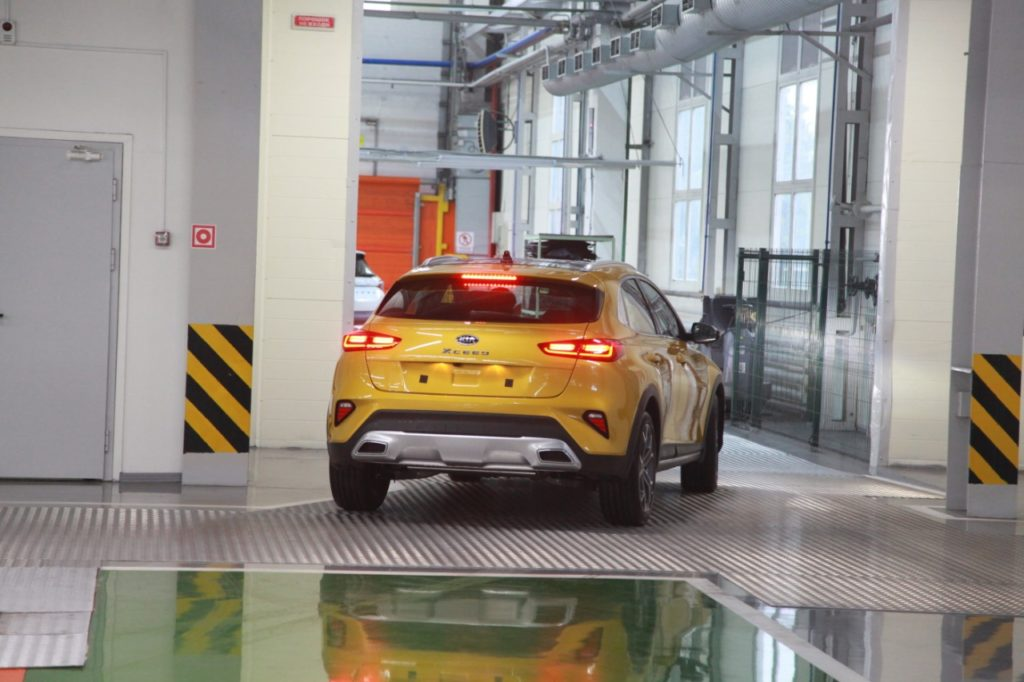 KIA XCeed для России начал производиться на заводе АВТОТОР