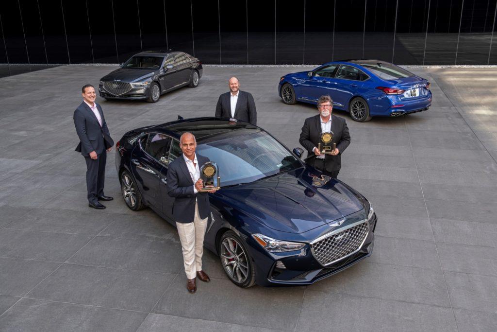 Бренд Genesis лучший в рейтинге качества новых автомобилей