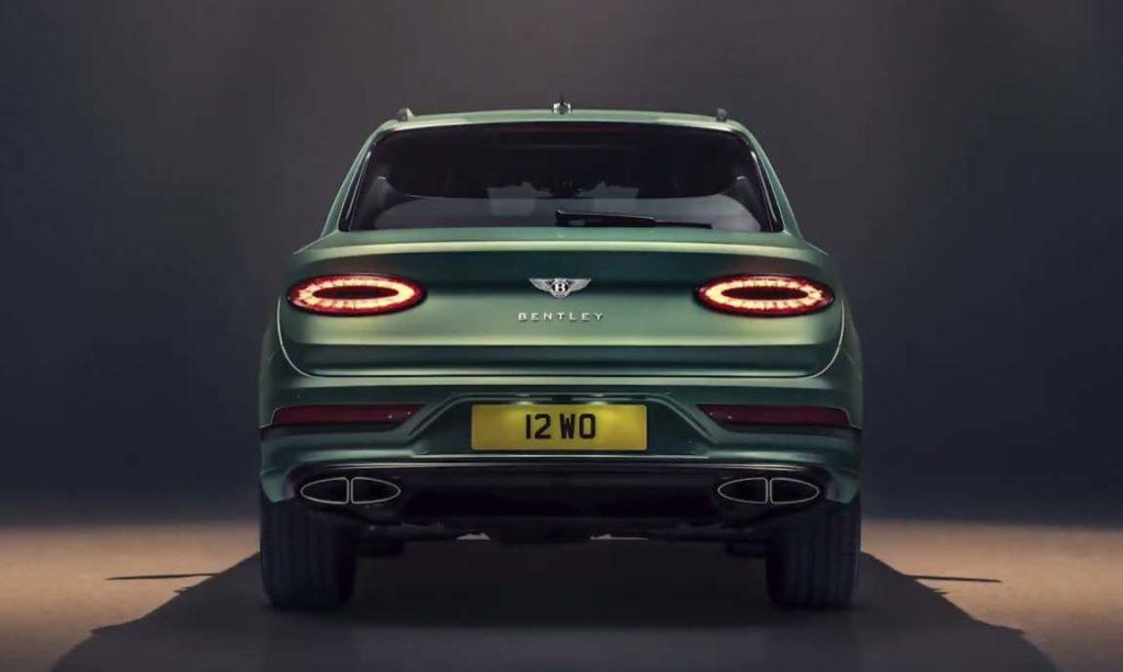 Компания Bentley показала обновленный Bentayga