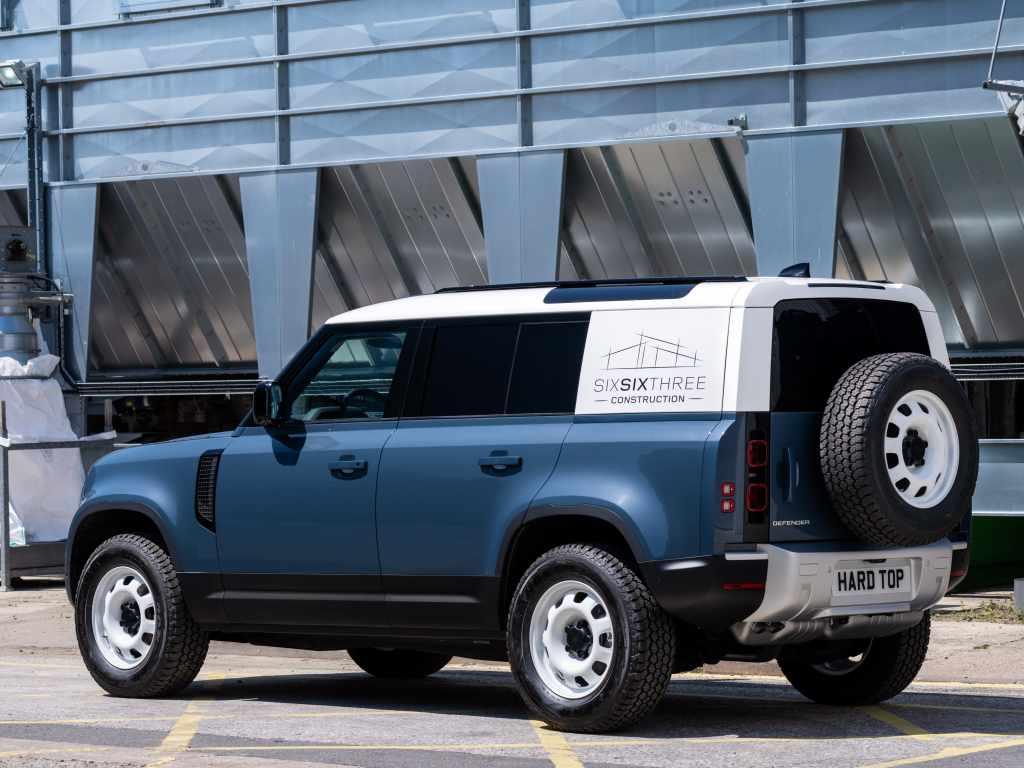 Коммерческие комплектации Land Rover Defender получат маркировку Hard Top