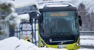 Электробусы Volvo за Полярным кругом