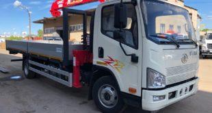 Расширение линейки среднетоннажных грузовиков FAW