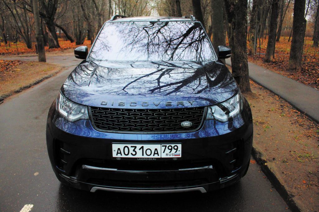 Обзор Land Rover Discovery