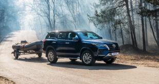 Начало продаж дизельного Toyota Fortuner