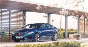 Обновленный Jaguar XF