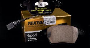 Тормозные колодки Textar epad