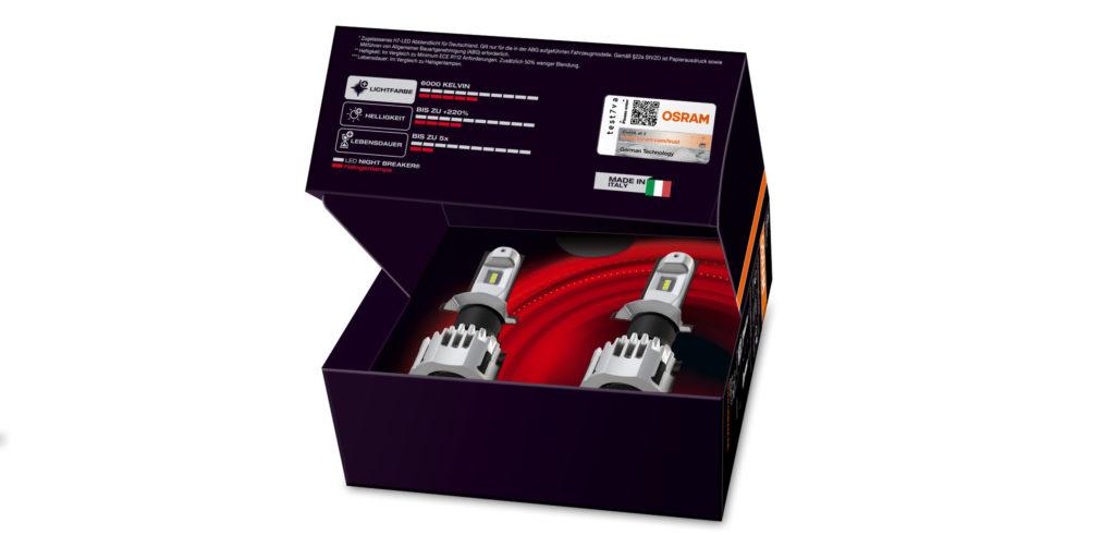 Osram Night Breaker LED для дорог общего пользования