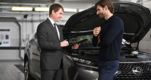 Lexus официальным сервисом