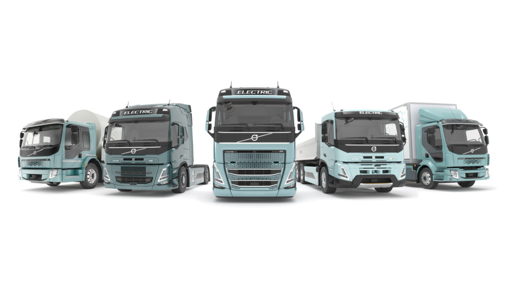 Электрогрузовики Volvo