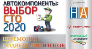 Автокомпоненты: выбор НСТО - 2020