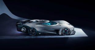 Jaguar воссоздал Vision Gran Turismo SV