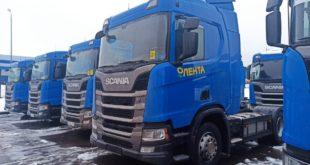 Scania для сети «Лента»