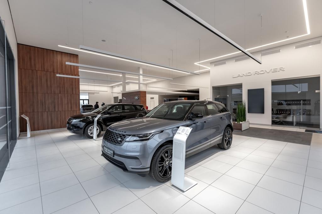Первое дилерство Jaguar Land Rover открылось в Калининграде