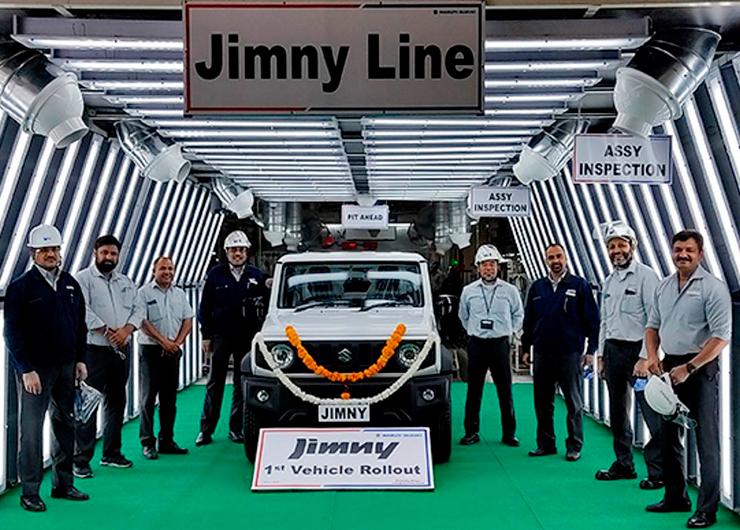 Suzuki Jimny будет собираться в Индии