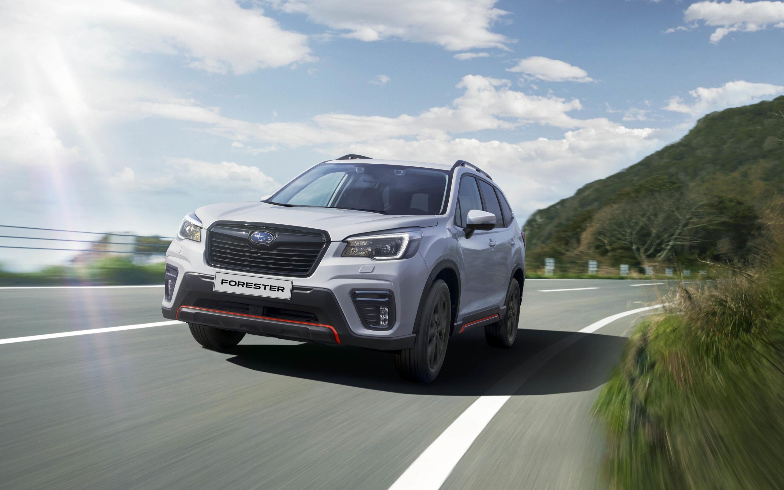 Самым продаваемым в 2020 году для Subaru в России стал кроссовер Forester