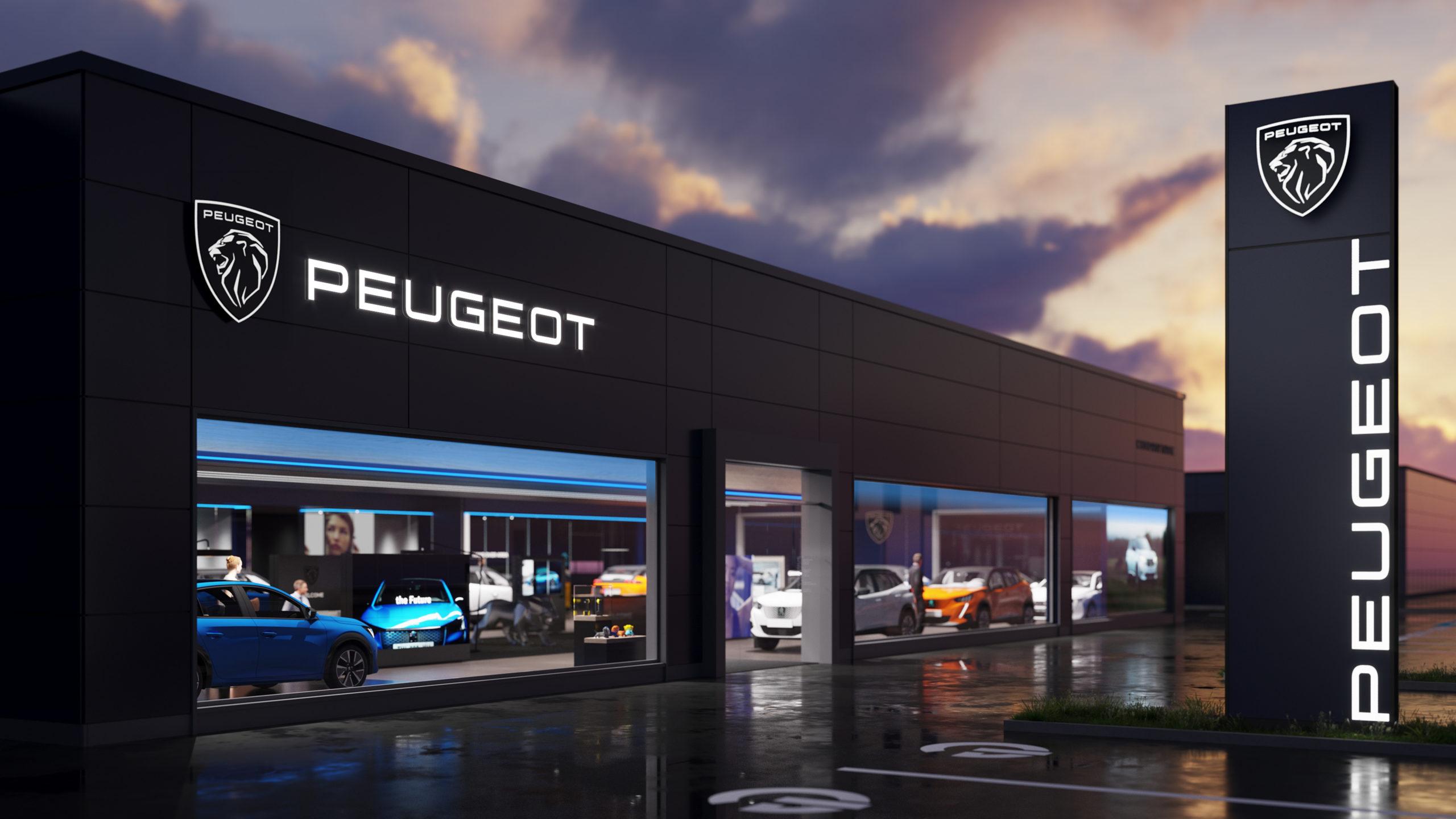 Компания PEUGEOT сменила логотип и фирменный стиль