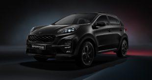Спецсерия Kia Sportage Black Edition
