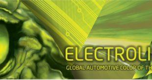 ElectroLight - новый автомобильный цвет 2021 года