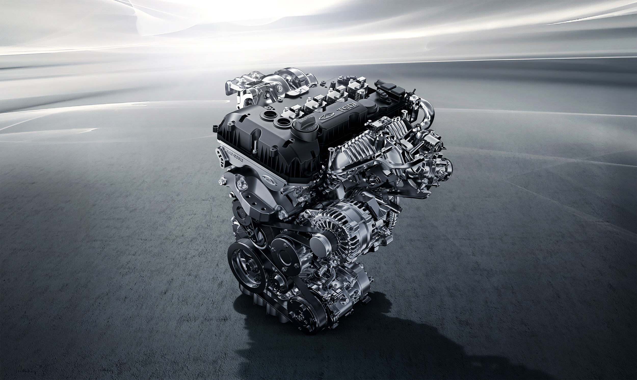 CHERY TIGGO 8 PRO комплектуется  двумя бензиновыми двигателями
