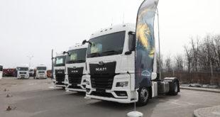 Новое поколение грузовиков MAN уже в России