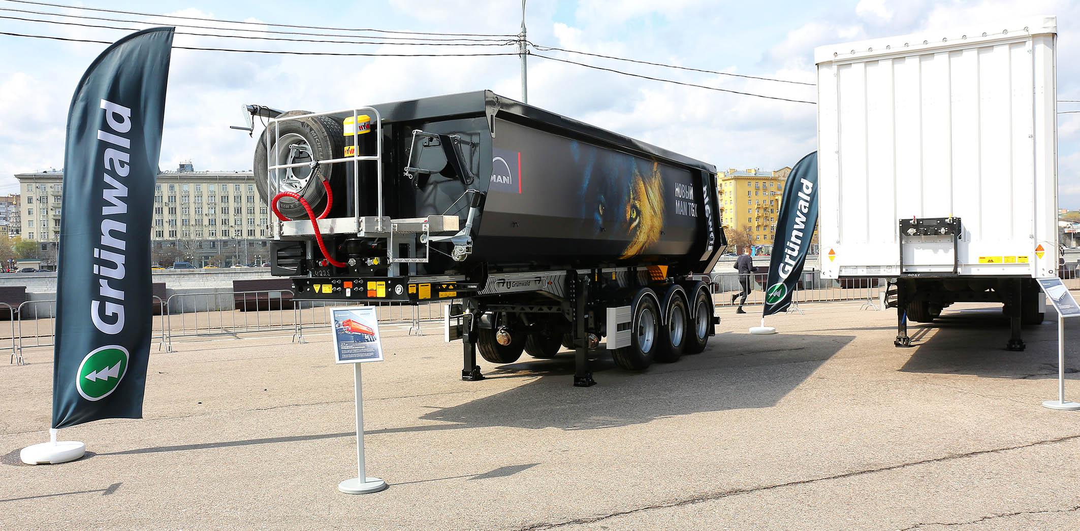 Компании Grunwald и SSAB участвуют в составе всероссийского автопробега MAN