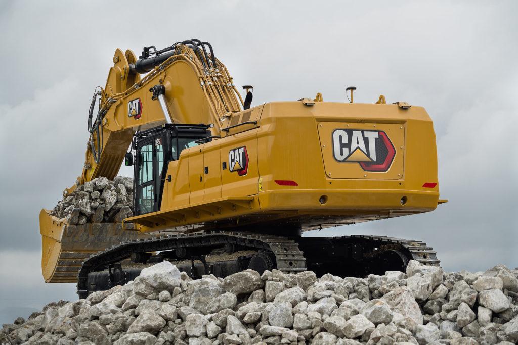 Экскаватор CAT 395 нового поколения