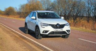 Тест Renault Arkana