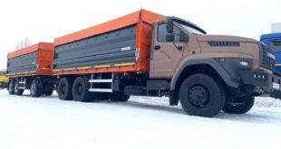 Самосвал-зерновоз на базе «Урал-NEXT»