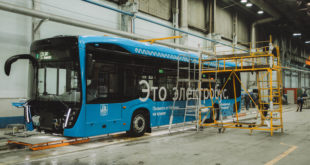 Электробусы КАМАЗ московской сборки