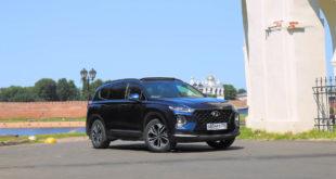 Тест Hyundai Santa Fe